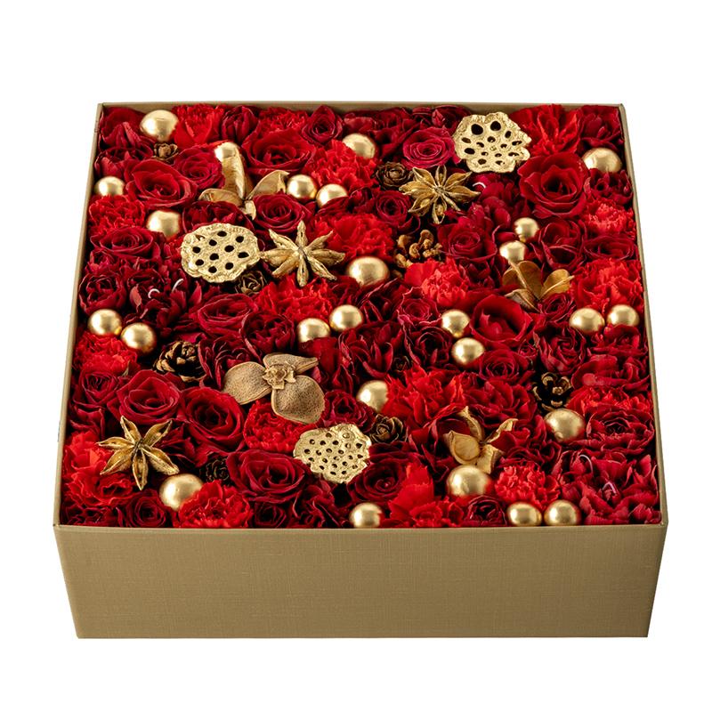 Holiday Blossom (Festive Red)