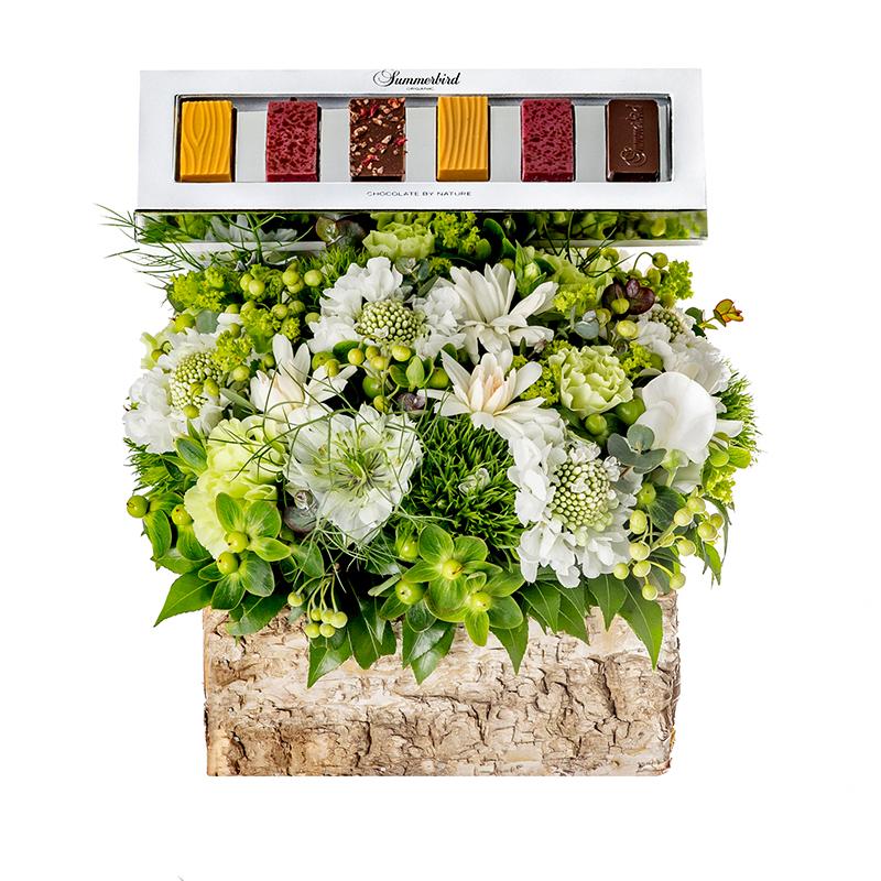 Pamper Bloom: Green (With Summerbird Tapas)