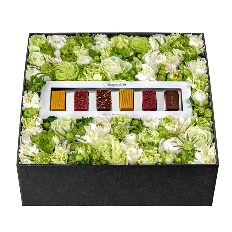 Pamper Box: Green (With Summerbird Tapas)