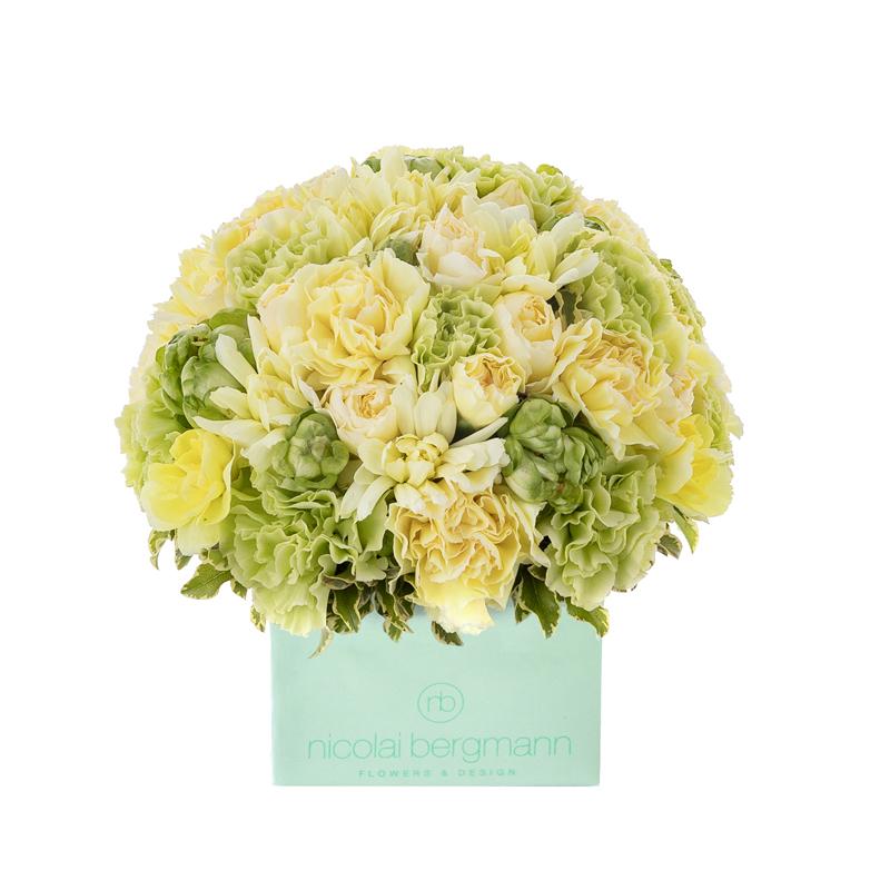 Coral Blooms (Lemon Cube)