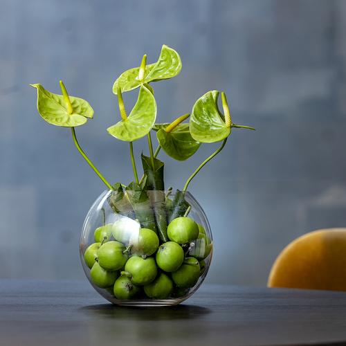 Mini-Apple Blooms(ガラス花器付き) image
