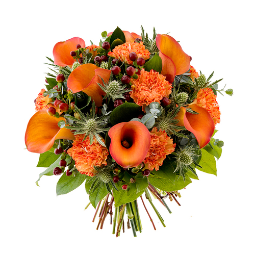 Fall Bouque (Tangerine) image